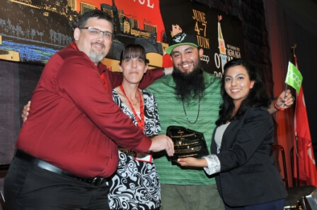 CHF Canada's Award for Co-operative Achievement was presented to Stoneworth Co operative Homes.