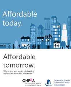 CHF Canada and ONPHA launch Affordable today. Affordable tomorrow.