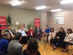 Charles Hastings Co-op hosts Premier, Housing Minister