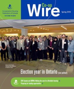 Debut issue of Ontario Region's Co-op Wire
