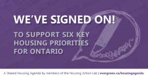 CHF Canada signs on to A Shared Housing Agenda