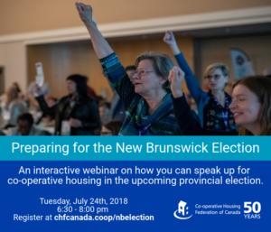 Webinar: Preparing for the New Brunswick Election