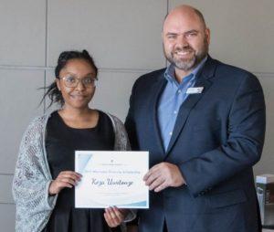 Diversity Scholarship recipient Keza Uwitonze talks about diversity