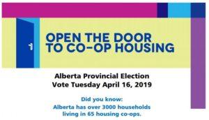 Alberta provincial election: Help open the door to co-op housing