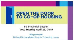 PEI provincial election: Help open the door to co-op housing