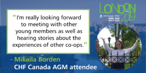 Meet an AGM Attendee: Mikaila Borden