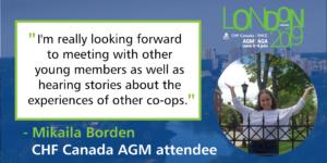 Meet an AGM Attendee: Mikaila Borden