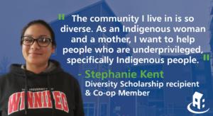 Diversity Scholarship awarded to Stephanie Kent