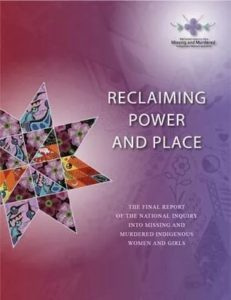 Why CHF Canada staff are reading the Missing and Murdered Indigenous Women and Girls report