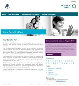 Your Group Benefits Plan – website refresh