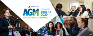 Official Notice: Don't miss CHF Canada's 2020 Virtual AGM