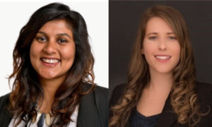 Meet CHF Canada's newest staff, Rajathi and Jaclyn