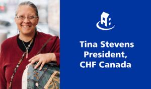 Meet new CHF Canada President Tina Stevens