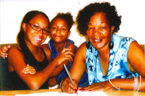 Denise and her daughters