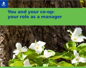 New Ontario co-op manager workshop April 22!