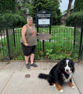 #HumansOfCoopHousing: Shannon helps grow community through gardening