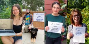 2021 Diversity Scholarship recipients head to school