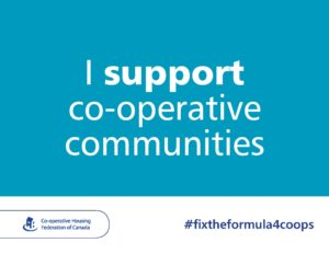 Ontario co-ops join the #FixtheFormula4Coops campaign
